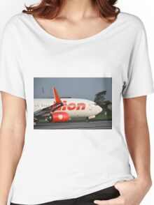 Lion Air airplane Women's Relaxed Fit T-Shirt