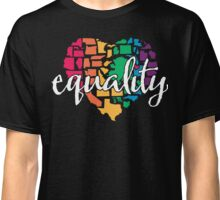 Equality Challenge: Rainbow Heart Classic T-Shirt