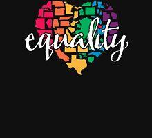 Equality Challenge: Rainbow Heart Classic T-Shirt