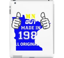 This Minnesota Guy Made in 1985 iPad Case/Skin