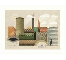 Autumn in Brum Art Print