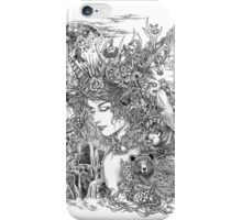 Gaia Dreams of Earth iPhone Case/Skin