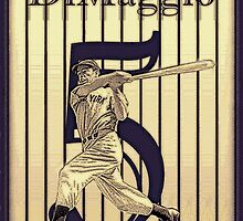 Joltin' Joe DiMaggio by SteelCityArtist