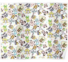 Fairy Type Pokemon Poster