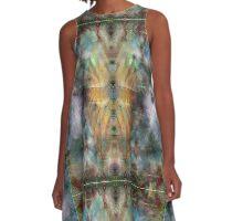 Baroque Quartz Fusion A-Line Dress