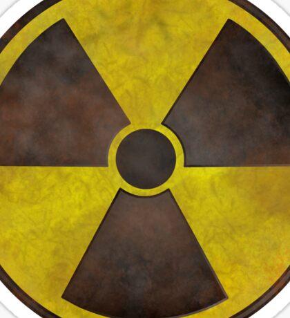 Radioactive Fallout Symbol - Geek Rusty Sticker