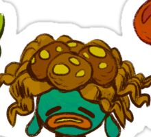 Oddish and crew Sticker