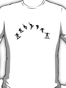 Snowboard freestyle jump T-Shirt