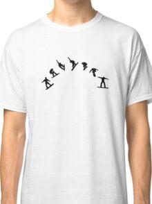 Snowboard freestyle jump Classic T-Shirt