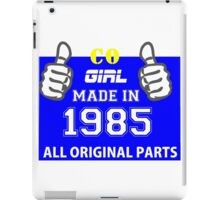 This Colorado Girl Made in 1985 iPad Case/Skin