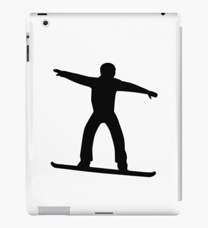 Snowboarding sports iPad Case/Skin