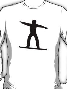 Snowboarding sports T-Shirt