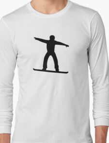 Snowboarding sports Long Sleeve T-Shirt