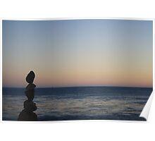 Rock Sculpture Poster