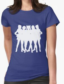 ~La Reconquista~ Silhouette Womens Fitted T-Shirt
