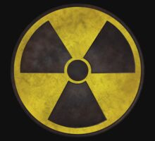 Radioactive Fallout Symbol - Dirty Nerd Kids Tee