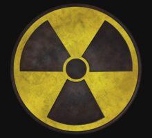 Radioactive Fallout Symbol - Dirty Nerd Baby Tee