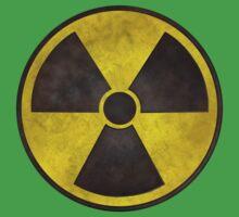 Radioactive Fallout Symbol - Dirty Nerd Kids Tee
