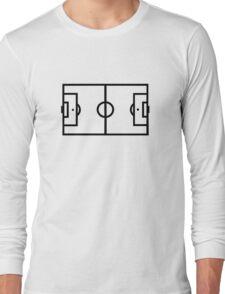 Soccer field Long Sleeve T-Shirt