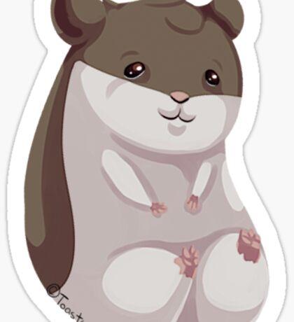 Single Dwarf Hamster Sticker Sticker