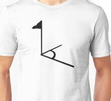 Soccer field corner flag Unisex T-Shirt