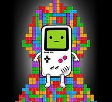 Throne of Tetris by NinoMelon