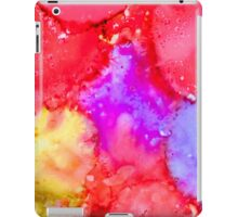 Abstract Bright Ink Art iPad Case/Skin
