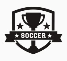 Soccer champion trophy Kids Tee