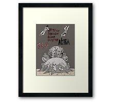 AKIRA - Film Poster Framed Print