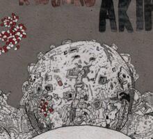 AKIRA - Film Poster Sticker
