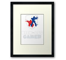 Kick Ass Gamer Framed Print