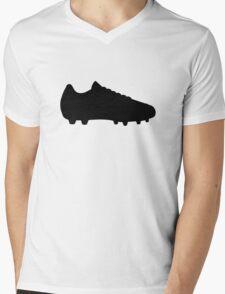 Soccer football shoe Mens V-Neck T-Shirt