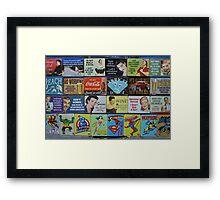 Kitsch Framed Print