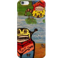 Rob Gamble and Glenn Prior's The Observers #1 copy right 2011 iPhone Case/Skin