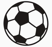 Soccer ball Kids Tee