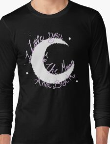 Love to the Moon Long Sleeve T-Shirt