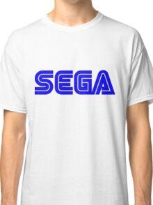 Blue Sega Logo Classic T-Shirt