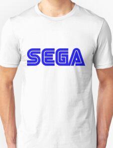 Blue Sega Logo Unisex T-Shirt
