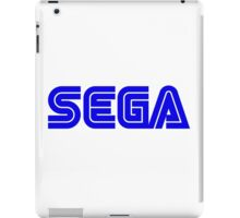 Blue Sega Logo iPad Case/Skin