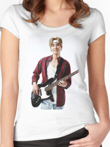 Day6 - Brian/Young K Women's Fitted Scoop T-Shirt