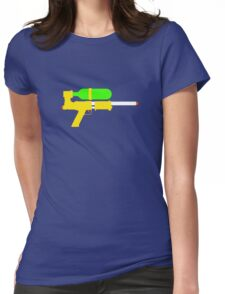 Super Soaker Womens Fitted T-Shirt