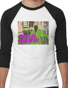 SNAIL DOWN Men's Baseball ¾ T-Shirt