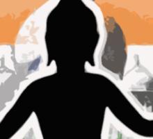 India Quidditch Sticker