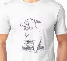 slowpoke - water no get enemy Unisex T-Shirt