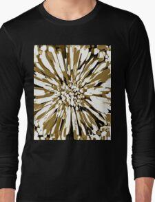 Dahlia Flower Neutral  Long Sleeve T-Shirt