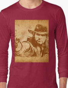 Cowboy - vintage Long Sleeve T-Shirt