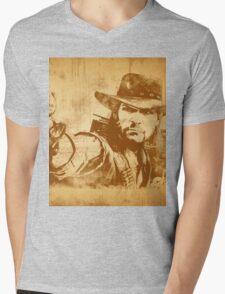 Cowboy - vintage Mens V-Neck T-Shirt