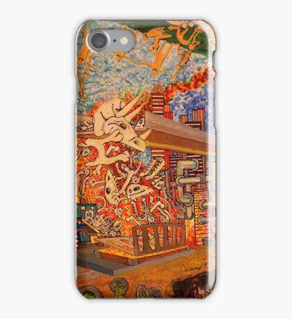 Rob Gamble and Glenn Prior's Dino Dilemma copy right 2011 iPhone Case/Skin