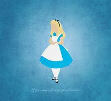 Alice in Wonderland inspired design (Alice). by topshelf