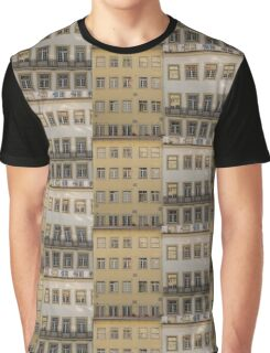 Windows pattern in Baixa Coimbra Portugal Graphic T-Shirt